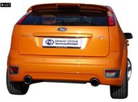 FOX Duplex Rennsportanlage Ford Focus 2 ST ab 04 1x100mm Typ 17 rechts links Bild 3