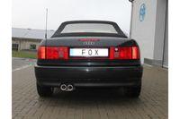 FOX Komplettanlage Audi 80/90 Typ 89 Coupe bis 94 - 2x76 Typ 13 Bild 5