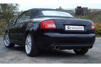 FOX Duplex Sportauspuff Audi A4 Typ B7 Lim. Cabrio Avant - 1x90mm Typ 17 rechts links Bild 5