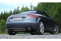FOX Duplex Rennsportanlage Audi TT 8J - 1x90mm Typ 17 rechts links Bild 3