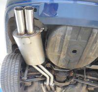 FOX Komplettanlage ab Kat BMW 320 323 325 328 330 E46 Lim. Touring Coupe Cabrio - 2x76mm Typ 10 Bild 4