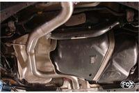 FOX Mittelschalldämpfer Ersatzrohr VW Scirocco 1.4l TSI 2.0l TFSI 2.0l TDI ab Bj. 08 (Rohrquerschnitt Ø 70mm) Bild 2