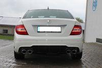 FOX Duplex Sportauspuff Mercedes C-Klasse Typ W204 C180 C200 ab 07 - 2x115x85mm Typ 32 rechts links Bild 7