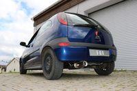 FOX Komplettanlage ab Kat Opel Corsa C 00-06 - 1x90mm Typ 13