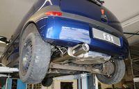 FOX Komplettanlage ab Kat Opel Corsa C 00-06 - 1x90mm Typ 13 Bild 7