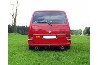 FOX Duplex Sportauspuff VW Bus T4 Frontantrieb - 1 x 115x85mm Typ 33 rechts links Bild 3