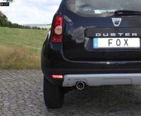 FOX Sportauspuff Dacia Duster Frontantrieb 4x2 ab 12 1.6l 1.5D - 1x90mm Typ 12 Bild 3