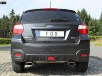 FOX Duplex Sportauspuff Subaru XV 2.0l - 1x145x65mm Typ 59 rechts links Bild 2