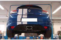 FOX Sportauspuff Renault Megane 3 Coupe ab 09 2.0l - 1x70mm Typ 10 Bild 3