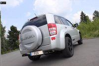FOX Duplex Sportauspuff Suzuki Grand Vitara JT ab 05 2.4l - 1x145x65mm Typ 59 rechts links Bild 2