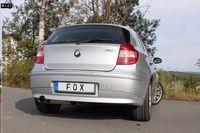 FOX Sportauspuff BMW 120i E87 - 1x80mm Typ 14 Bild 4