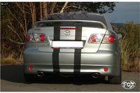 FOX Duplex Sportauspuff Mazda 6 GG Lim. u. GY Kombi 2.0l 1x115x85mm Typ 32 rechts links Bild 3