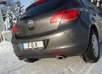 FOX Duplex Rennsportanlage ab Kat Opel Astra J Lim. ab 09 1.4T 1x135x80mm Typ 53 rechts links Bild 2