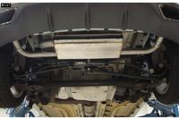 FOX Duplex Sportauspuff 76mm Opel Astra J OPC ab 12 2.0l - Austritt rechts links Bild 3