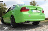 FOX Sportauspuff BMW 325i E90 Limousine E91 Touring 2x80mm Typ 25 Bild 3