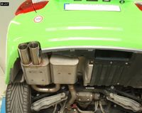 FOX Sportauspuff BMW 325i E90 Limousine E91 Touring 2x80mm Typ 25 Bild 5