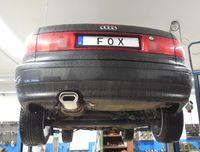 FOX Sportauspuff (auf Serie) Audi 80 B4 Cabrio 1.8l bis 2.8l u. 19.TD 1x135x80mm Typ 53 Bild 7