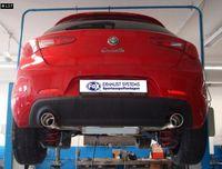 FOX Duplex Sportauspuff Alfa Romeo Giulietta 940 1.4T 1x100mm Typ 16 rechts links