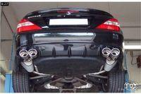 FOX Duplex Sportauspuff (kurze Variante) Mercedes SL-Klasse Typ 230 Facelift 3.5l 2x115x85mm Typ 32 rechts links Bild 2