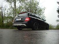 FOX Duplex Sportauspuff Mercedes C-Klasse W204 S204 ab 07 6-Zyl. 2.5l bis 3.5l u. 3.0D (Facelift mit AMG-Paket) 2x115x85mm Typ 32 rechts links Bild 4