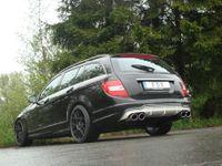FOX Duplex Sportauspuff Mercedes C-Klasse W204 S204 ab 07 6-Zyl. 2.5l bis 3.5l u. 3.0D (Facelift mit AMG-Paket) 2x115x85mm Typ 32 rechts links Bild 3