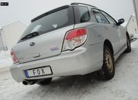 FOX Sportauspuff Subaru Impreza GD GG Schrägheck Stufenheck ab 00 1.5l 1x140x90mm Typ 44 Bild 2