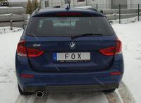 FOX Sportauspuff BMW X1 X84 ab 09 2.0D - 1x100mm Typ 16 Bild 3