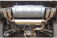 FOX Duplex Sportauspuff Hyundai Tucson JM Bj. 04-10 2.7l - 2x88x79mm Typ 71 rechts/links
