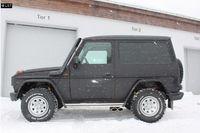 FOX Komplettanlage ab Kat Mercedes G-Klasse Typ 463 bis 00 3.0l 3.2l 3.0TD (mit Trittbrett) - 2x115x85mm Typ 38 Ausgang seitlich Bild 4