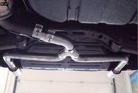 FOX Duplex Endrohrsystem Hyundai i30 ab 07 1.4l bis 2.0l (CZ-Modelle, passend auf Original ESD) - 1x90mm Typ 17 rechts links Bild 2