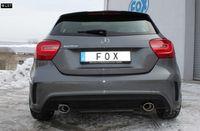 FOX Duplex Komplettanlage ab Kat Mercedes A-Klasse W176 ab 12 1.6l 2.0l - 1x115x85mm Typ 32 rechts links Bild 2