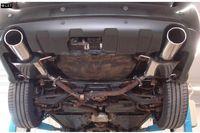 FOX Duplex Sportauspuff Subaru Outback BL BP 3.0l Bj. 03-09 - 1x129x106mm Typ 44 rechts links Bild 3