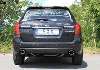 FOX Duplex Sportauspuff Subaru Outback BL BP 3.0l Bj. 03-09 - 1x115x85mm Typ 44 rechts links Bild 4