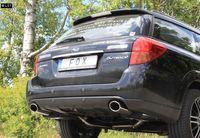 FOX Duplex Komplettanlage ab Kat Subaru Outback BL BP 3.0l Bj. 03-09 - 1x115x85mm Typ 44 rechts links