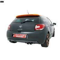 REMUS Sportauspuff Citroen DS3 Racing Typ S ab Bj. 11 1.6l - 2 x 84mm