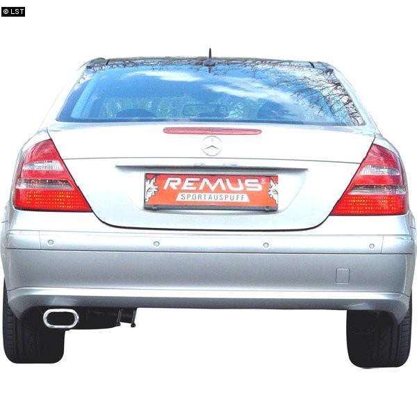 remus sportauspuff mercedes benz e klasse w211 limousine t modell e220 cdi 135x75mm mercedes. Black Bedroom Furniture Sets. Home Design Ideas