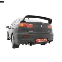 REMUS Duplex Sportauspuff Mitsubishi Lancer Evolution 10 Typ CZ0 2.0l Turbo ab Bj. 08 - 1 x 102mm rechts /links Bild 2