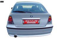 REMUS Sportauspuff BMW 316Ti E46 Compact ab 01 - 2x92x78mm Bild 2