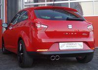 FRIEDRICH MOTORSPORT Sportauspuff Seat Ibiza 6J Schrägheck ab 08 1.2l bis 2.0l u. Diesel - Endrohrvariante frei wählbar Bild 3
