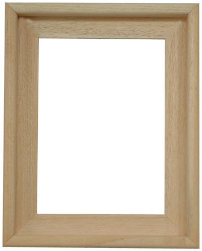 Schattenfugenrahmen Fugano Natur Holz - Der Rahmen wird zur Selbstmontage* geliefert