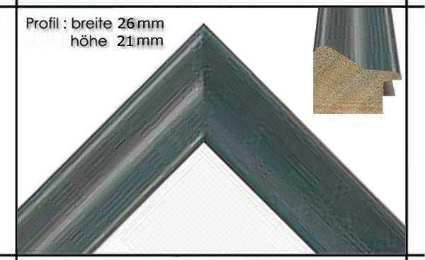 Holzrahmen Classic Blau - Der Rahmen wird zur Selbstmontage* geliefert.