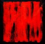 Abstrakt - Black Ruby m90353 120x120cm abstraktes Ölgemälde handgemalt