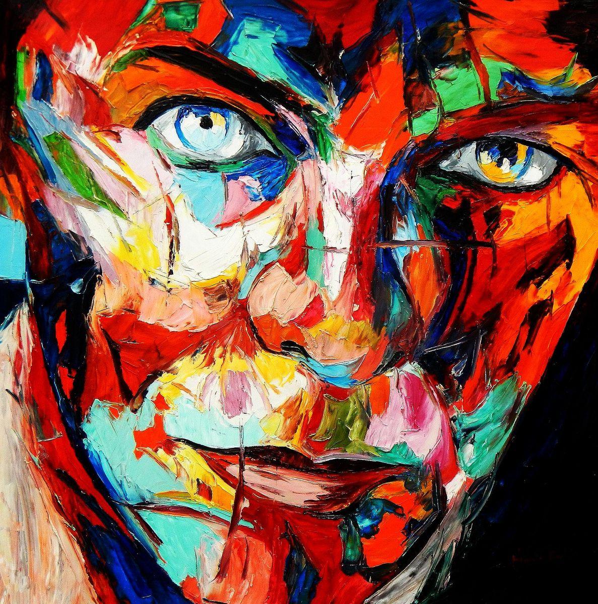 Modern Art - Die Gewissheit g94379 80x80cm beeindruckendes Ölbild