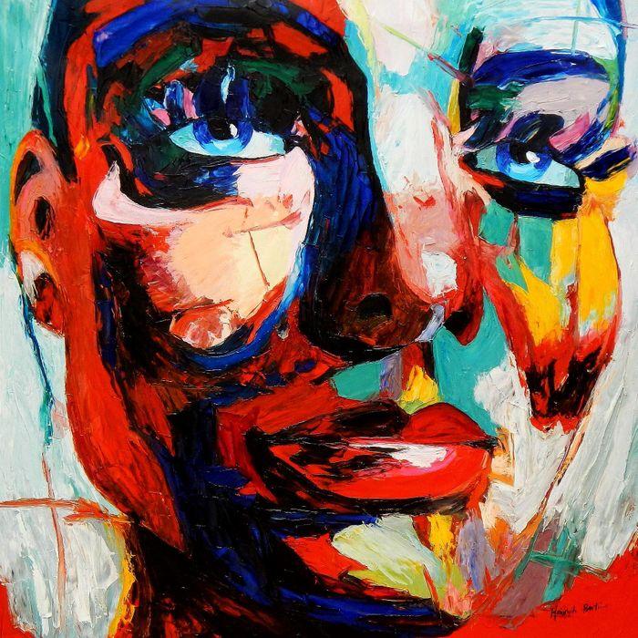 Abstrakte Gemälde und junge moderne Gegenwarts Kunst finden Sie in ...