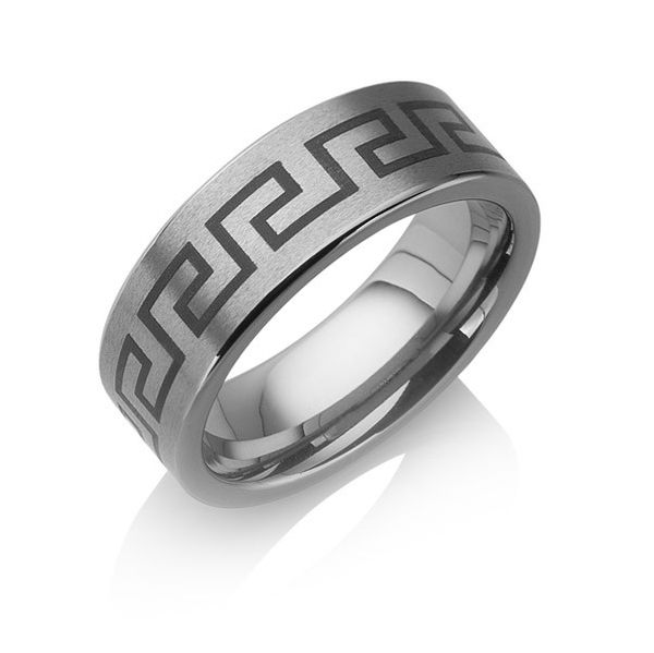 "Tungstino Ring ""Greek"" Wolframcarbid"