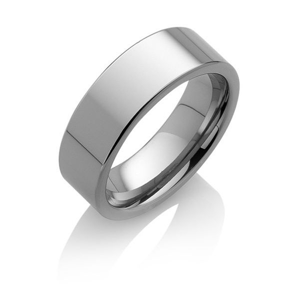 "Tungstino Ring ""Flatos"" Wolframcarbid"