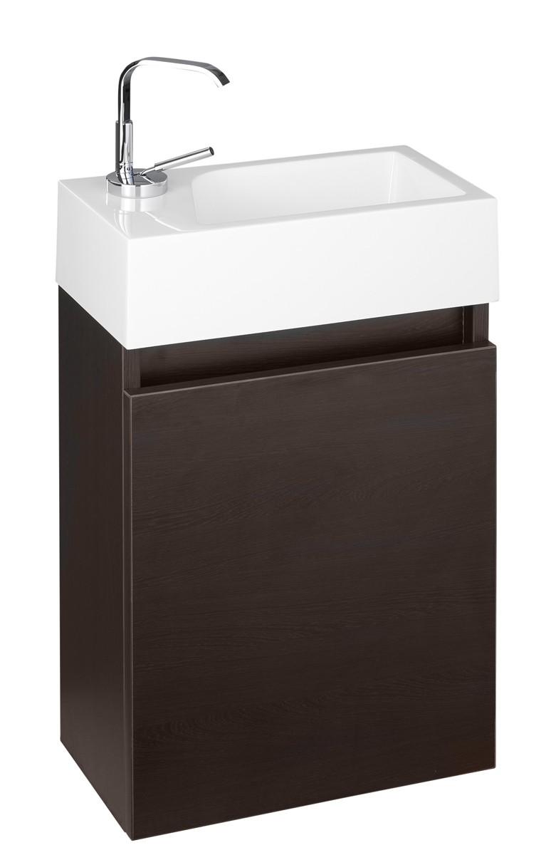 Gäste-WC Badmöbel Waschbecken mit Unterschrank