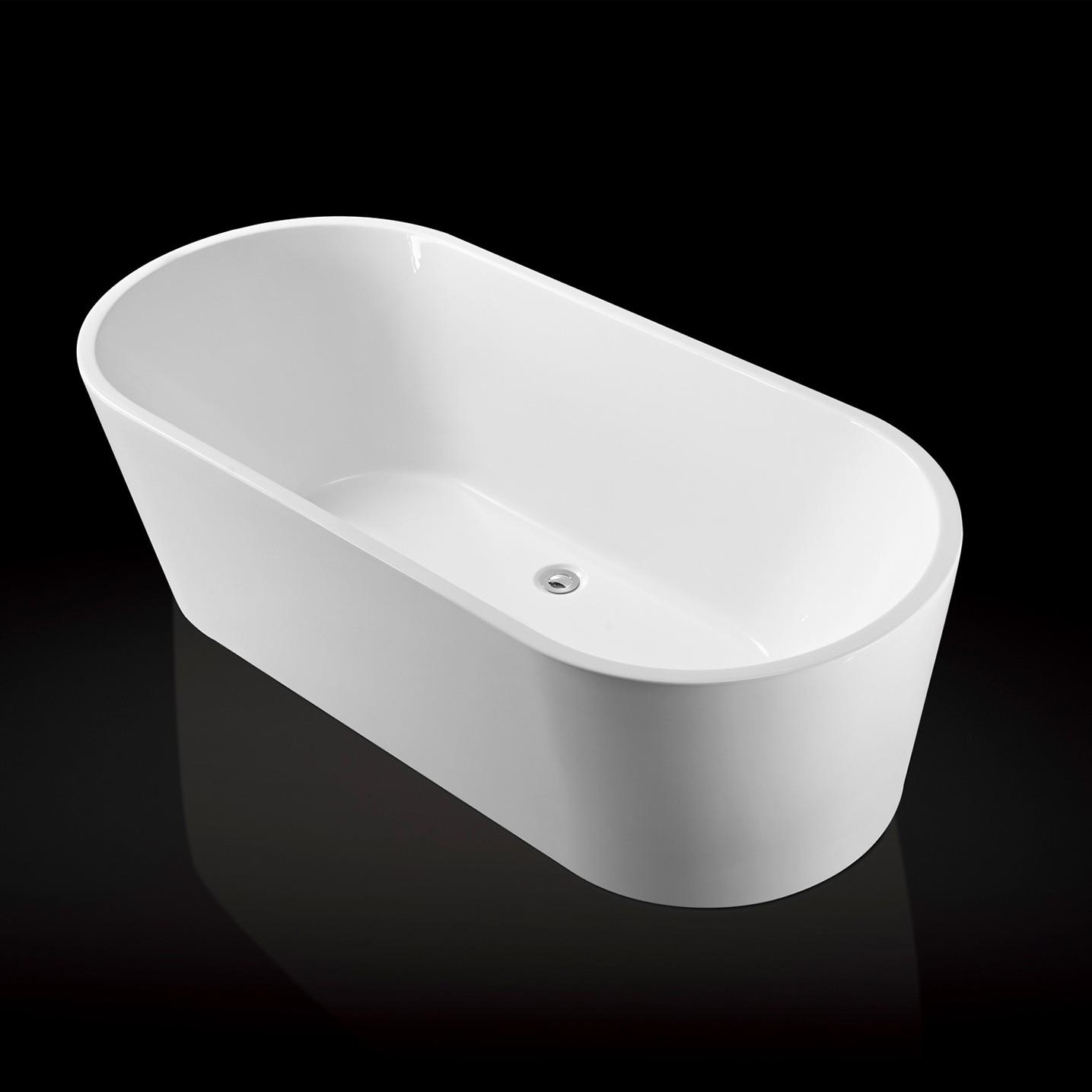 Freistehende Badewanne Raffinierten Look: Herrlich
