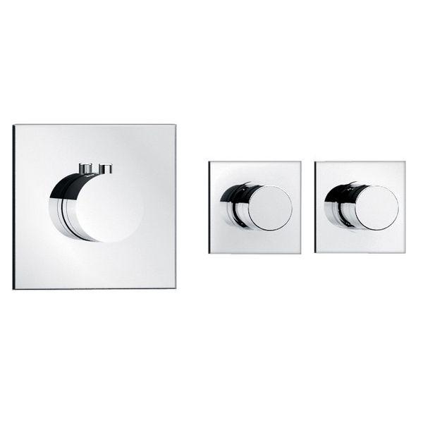 Soho 2 Wege Unterputz Thermostat Armatur