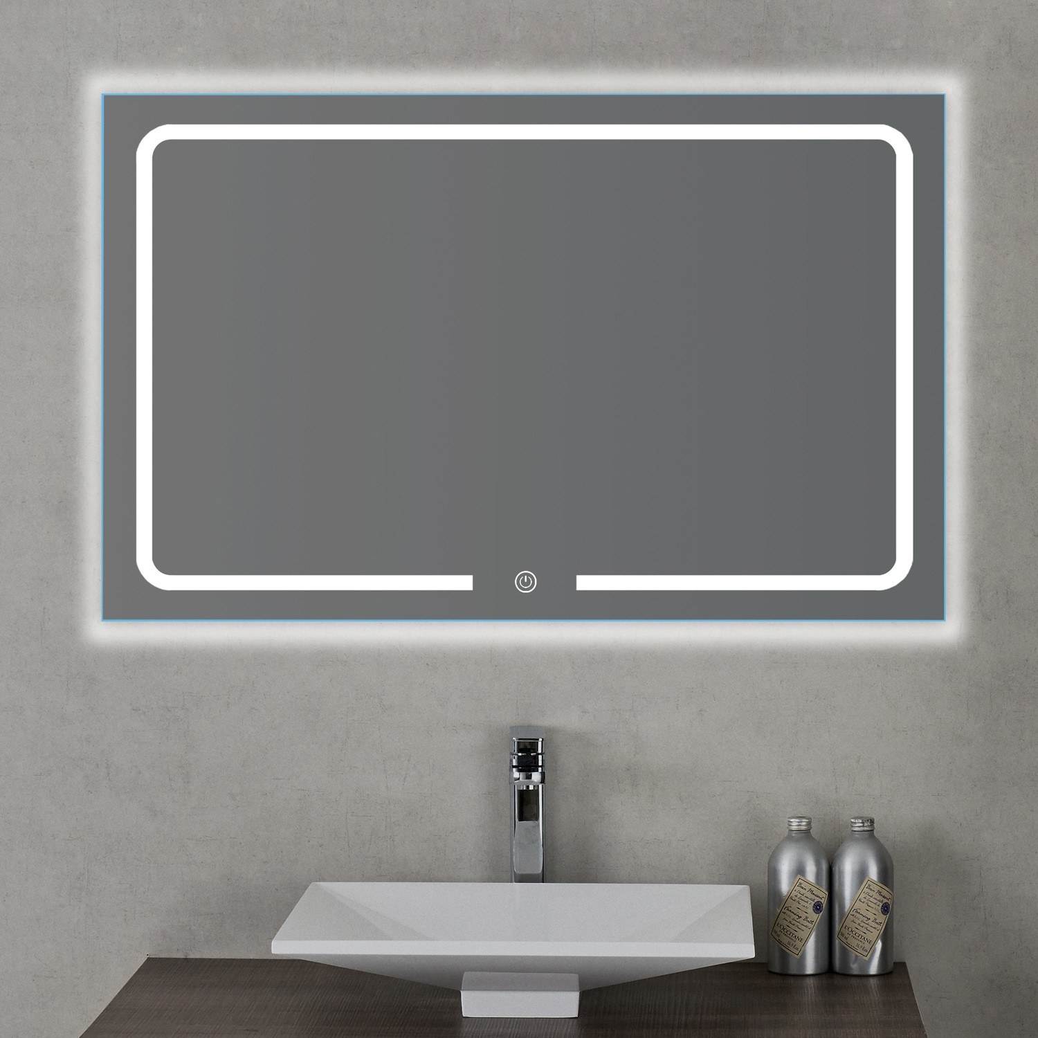 spiegel led cheap bruynzeel spiegel verticale miroir avec. Black Bedroom Furniture Sets. Home Design Ideas